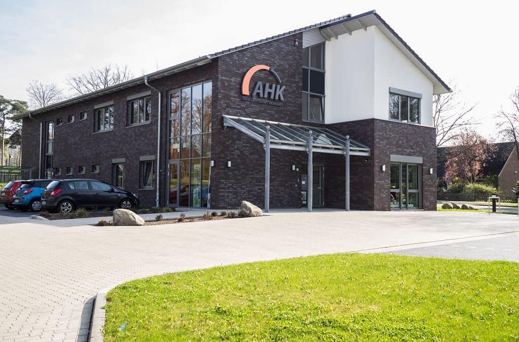 Verwaltungsgebäude des Landkreises in Soltau