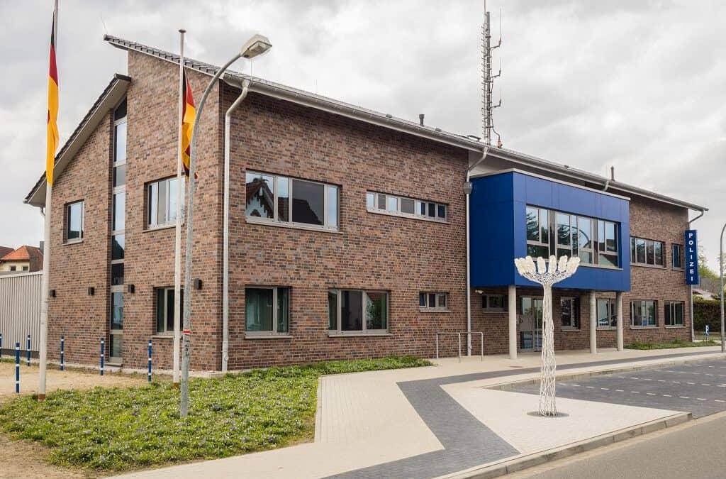 Gebäude der Polizei Munster